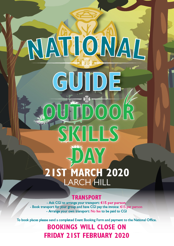 Poster for National Guide Outdoors Day